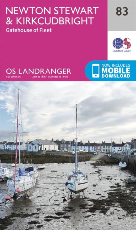 OS Landranger 83 Newton Stewart and Kirkcudbright